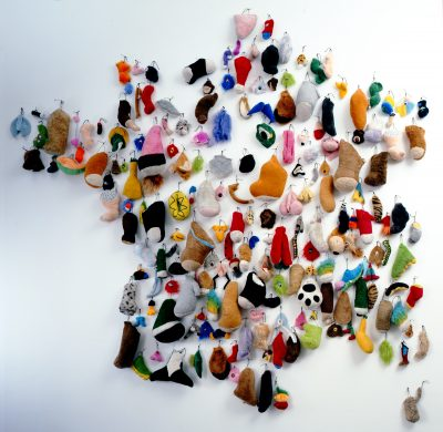 Messager Annette, Faire des cartes de France, 2000, Lille, LaM.